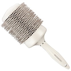 Brushworx White Pearl Hot Tube Hair Brush-Jumbo