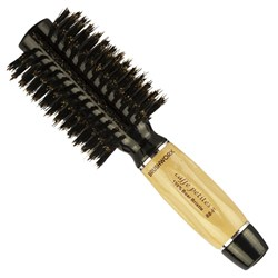 Brushworx Caffe Petites Boar Bristle Radial Hair Brush