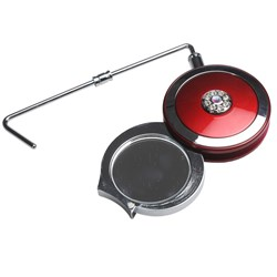 Taylor Madison Purse Hanger & Compact Mirror - Red