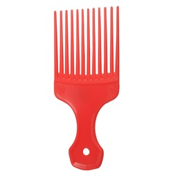 Salon Smart Afro Hair Comb, Geranium