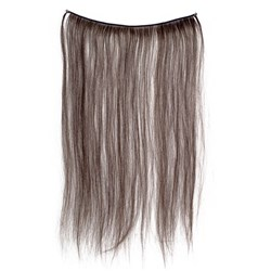 Dateline Hair Weft Dark Brown 20cm x 43cm