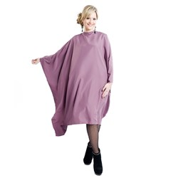 Elektra Delight Me Styling Cape - Dusty Mauve