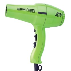 Parlux 1800 Hair Dryer Green
