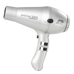 Parlux 3200 Compact Hair Dryer Silver