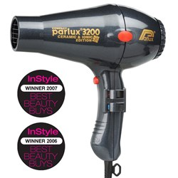 Parlux 3200 Ionic Ceramic Compact Hair Dryer Charcoal