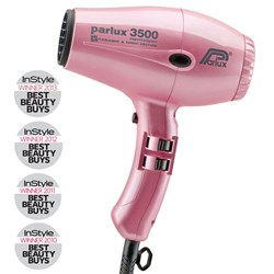 Parlux 3500 SuperCompact Ceramic Ionic Hair Dryer Pink