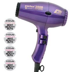 Parlux 3500 SuperCompact Ceramic Ionic Hair Dryer Purple