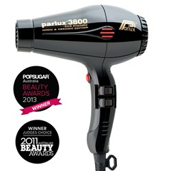 Parlux 3800 Ionic Ceramic Hair Dryer Black