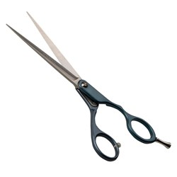 "Iceman 6.5"" Cool Blue Scissors - Hand Honed Blades"