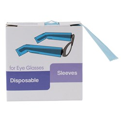 Dateline Professional Disposable Sleeves for Eye Glasses