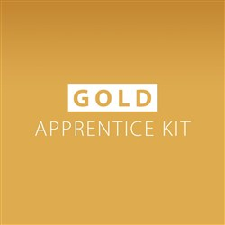 Dateline Professional Apprentice Hairdressing Kit Gold