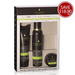 Macadamia Professional Luxurious Curls Pack