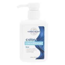 Keracolor Color Clenditioner Colouring Shampoo Blue