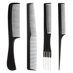 "Our most popular hair combs packaged together to save you money. For easy convenience, we&rsquo;ve grouped together an assortment of tail combs, detangling combs, teasing combs and much more to satisfy all your hairstyling needs. Fast delivery nationwide.&nbsp;<span style=""color: #5c5a58; font-size: 12px;"">More in&nbsp;</span><a href=""/hair-brushes-and-combs"" title=""Hair Brushes and Combs"" style=""font-size: 12px;"">Hair Brushes and Combs</a><span style=""color: #5c5a58; font-size: 12px;"">&nbsp;section or go to&nbsp;&nbsp;<a href=""/hair-products"" title=""hair products"">hair products</a>&nbsp;for more items sorted by category.</span>"