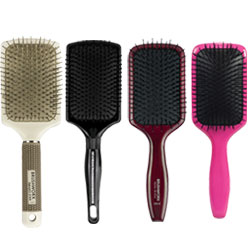 "<span style=""font-size: 12px;"">For smooth, silky and frizz-free hair, <strong>paddle brushes</strong> are essential. With a large cushion base of bristles, paddle hair brushes are ideal for long and thick hair. A must-have for blow-drying naturally straight hair or finishing wavy and curly hair.&nbsp;<span style=""color: #5c5a58;"">More</span><span style=""color: #5c5a58;"">&nbsp;in&nbsp;</span><a href=""/hair-brushes-and-combs"" title=""Hair brushes and combs"">Hair brushes and combs</a>&nbsp;and also in <a href=""/hair-supply"" title=""hair supply"">hair supply</a><span style=""color: #5c5a58;"">.</span></span>"