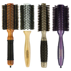 "In a vast array of barrel sizes, you&rsquo;ll love our range of round hair brushes. From creating curl to maximum lift to smoothing, round brushes are an essential for stylists. Select from various types of bristles to best suit your styling needs. More in&nbsp;<a href=""/hair-brushes-and-combs"" title=""Hair brushes and combs"">Hair brushes and combs</a>."