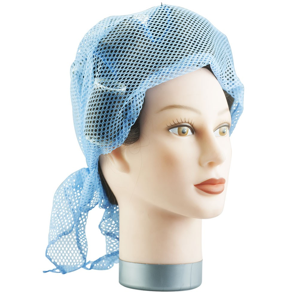 Dress Me Up Network Triangular Setting Hair Net Blue