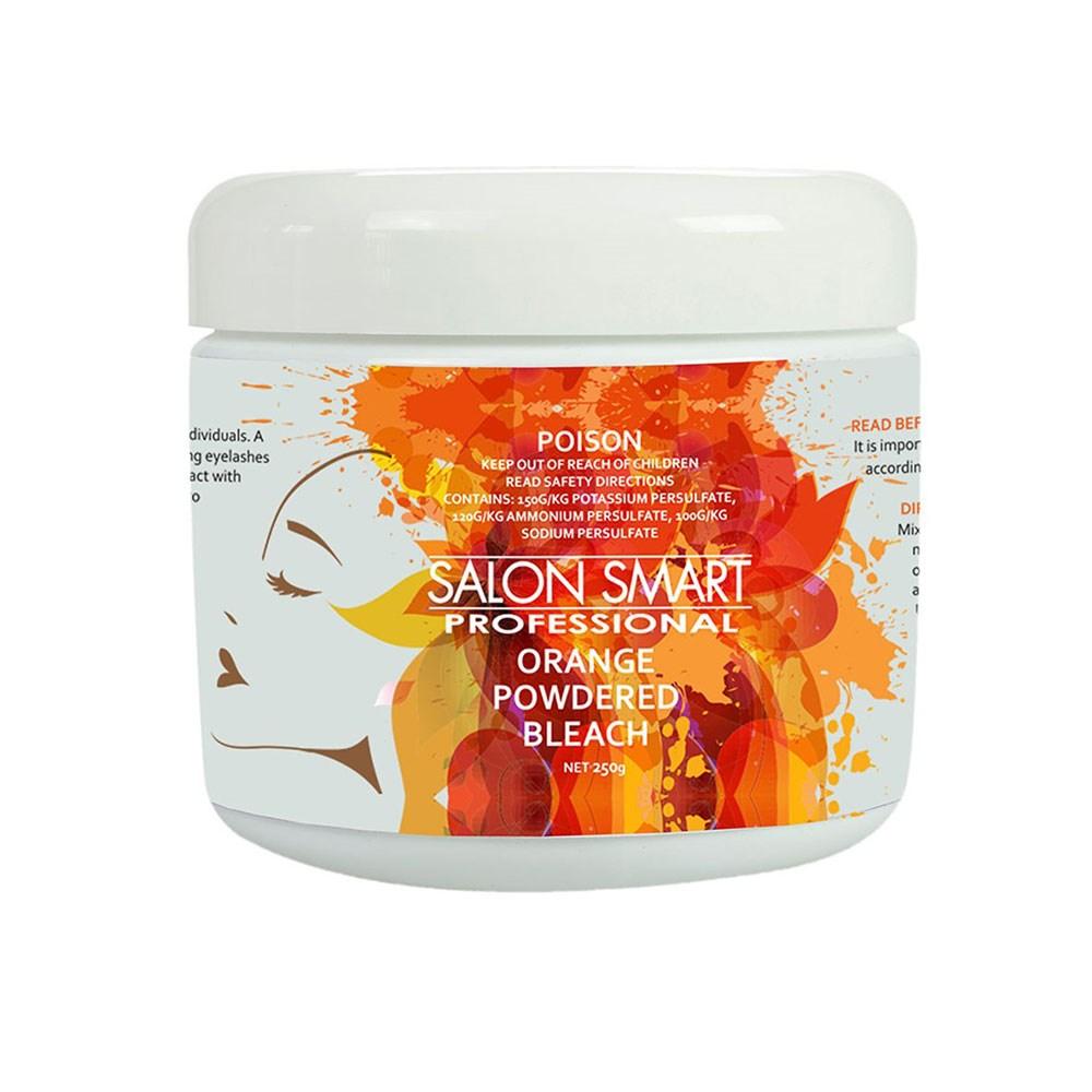 Salon smart orange powdered hairdressing bleach home for Salon orange