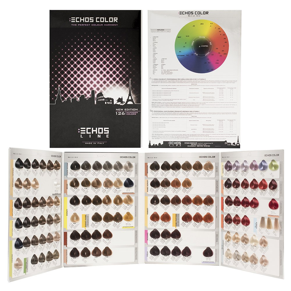 Echos color hair colour chart large home hairdresser echos color hair colour chart large zoom echos nvjuhfo Gallery