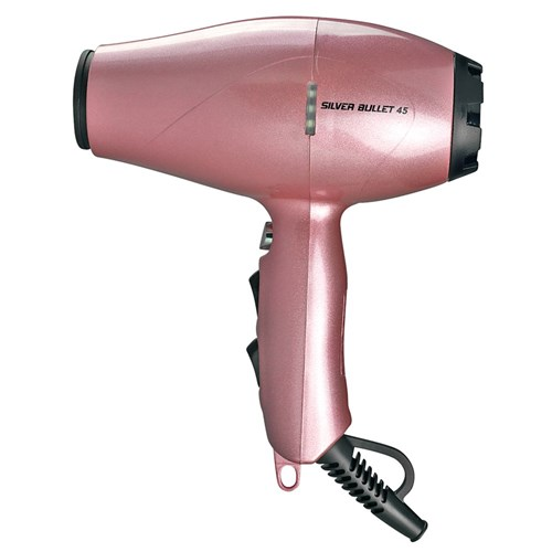 Pink Hair Dryer ~ Silver bullet professional hair dryer light pink home