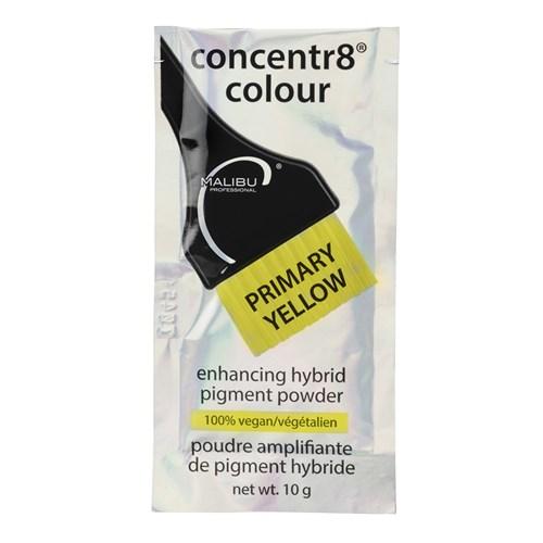 Malibu C Concentr8 Colour Pigment Powder Primary Yellow - Home